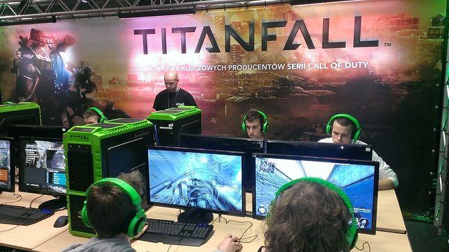Stefa Titanfall na stoisku Nvidii