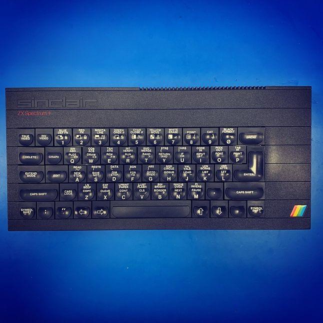 Mój własny ZX Spectrum+ :-)