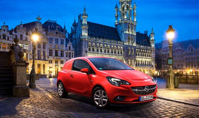 Nowy Opel Corsa również jako van