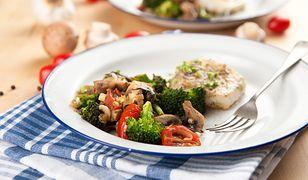Ryba w pikantnych warzywach