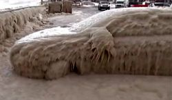 #dziejesiewmoto [258]: lodowy Lancer, bójka na drodze i parkingowe chamstwo