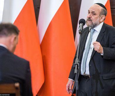 Naczelny rabin Polski Michael Schudrich: W Polsce nie ma dziś fizycznych ataków na Żydów