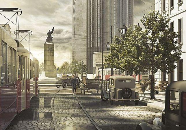 Tak wyglądałaby Warszawa, gdyby nie II wojna światowa