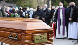 Pogrzeb Jana Lityńskiego. Działacz antykomunistyczny spoczął na Powązkach Wojskowych