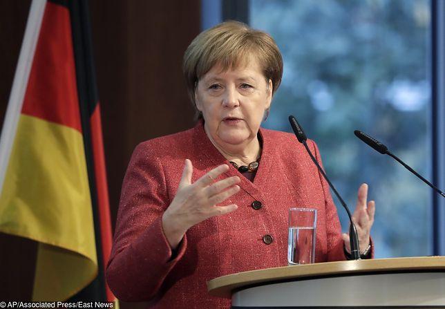 Angela Merkel: prezydent Rosji odpowiedzialny za kryzys