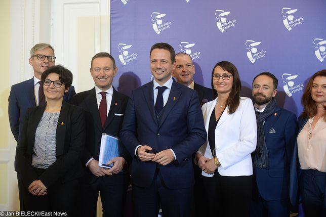 Rafał Trzaskowski przedstawił współpracowników