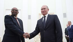 Prezydent Sudanu Omar al Baszir i Władimir Putin