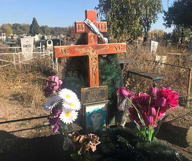 Grób Antona Wazhowa, jednego z Wagnerowców zabitych w Syrii