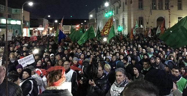 Zamieszki w Argentynie. Chcieli zaatakować byłą prezydent?