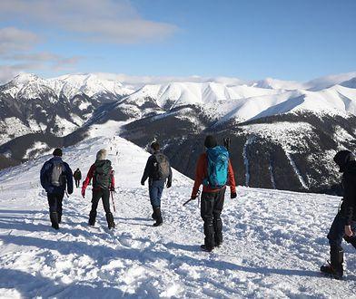 Wysokie zagrożenie lawinowe w Tatrach. Sytuacja będzie się pogarszać