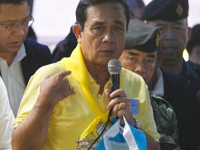 Prayuth Chan-ocha podziękował uczestnikom akcji ratunkowej w jaskini Tham Luang