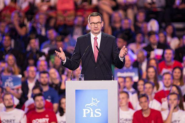 Premier Mateusz Morawiecki (PiS).