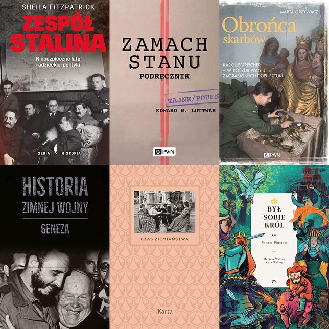 Znamy najlepsze książki historyczne 2017 roku!
