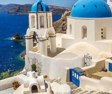 Grecja. Zachód słońca i Złoty Świt