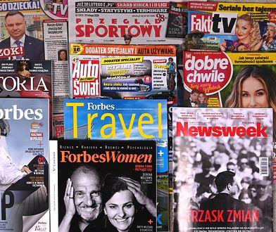 Polskie czasopisma wydawane przez wydawnictwo Ringier Axel Springer Polska, będące częścią zagranicznego holdingu Ringier Axel Springer Media AG.