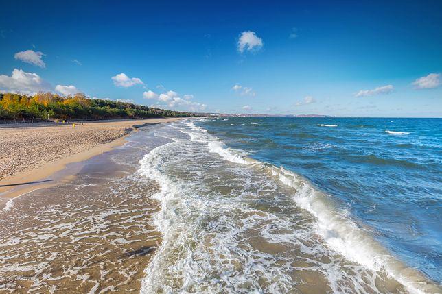 Pogoda nad morzem – czasem słońce, czasem deszcz w nadchodzący weekend