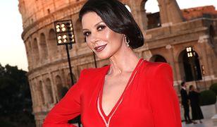Catherine Zeta-Jones zadała szyku w Rzymie