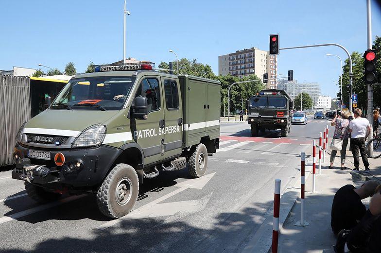 Warszawa. 250-kilogramowa bomba na placu budowy metra