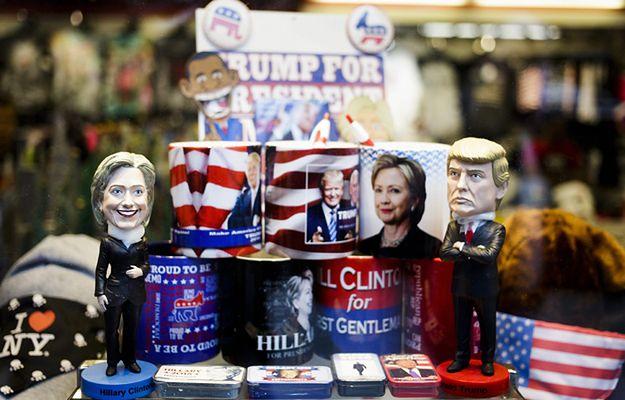 Sondaże: Trump zyskuje, ale Clinton wciąż prowadzi