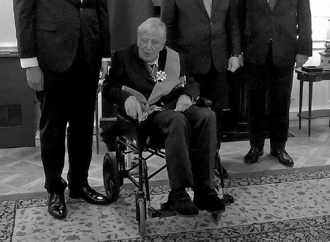 Nie żyje płk Mieczysław Stachiewicz. Pilot Dywizjonu 301 miał 102 lata