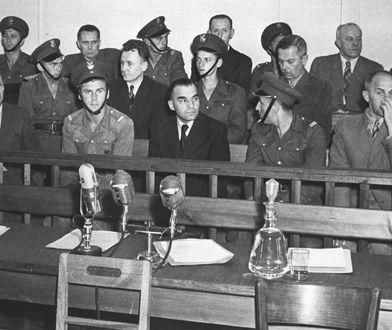 Pokazowy proces generałów oskarżonych o szpiegostwo i dążenie do obalenia władzy PZPR, tzw. proces TUN (Tatar-Utnik-Nowicki) przed Najwyższym Sądem Wojskowym. Warszawa 1951 r.