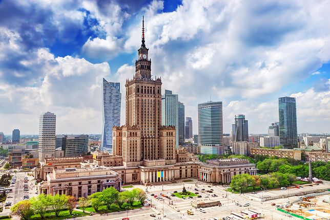 Warszawa znalazła się w setce najpopularniejszych turystycznie miejsc