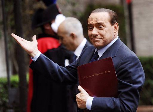 """Berlusconi znowu w sądzie. Nie chodzi o """"bunga bunga"""""""