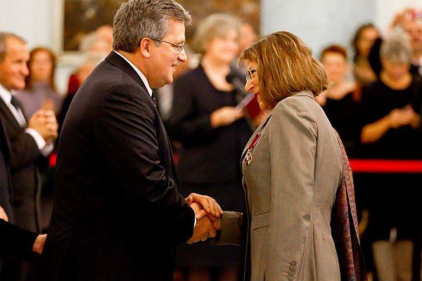 Jadwiga Czartoryska otrzymała Złoty Krzyż Zasługi