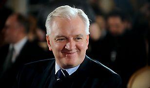 Jarosław Gowin jest wicepremierem w rządzie Mateusza Morawieckiego
