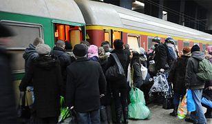 Świąteczne podróże pociągami