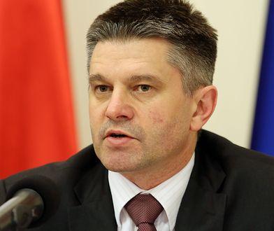 Jacek Kapica mówił, że poręczenie majątkowe wynoszące 0,5 mln zł jest dla niego nieosiągalne