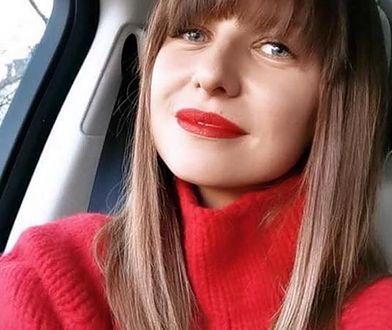 Wcześniej Lewandowska podzieliła się fotografią z planu zdjęciowego