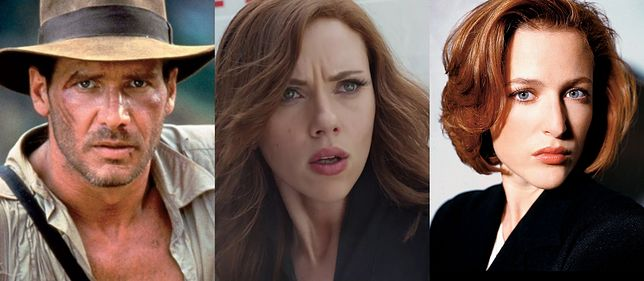 Indiana Jones, Czarna Wdowa i Dana Scully. Te postacie mogły zupełnie inaczej wyglądać