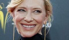 Cate Blanchett w klasycznej czerni