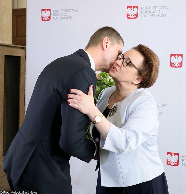 Dariusz Piontkowski zastąpił Annę Zalewską. Sławomir Broniarz powiedział, co tym myśli
