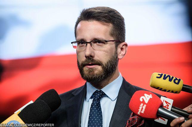 Wybory parlamentarne. Radosław Fogiel, radny sejmiku wojewódzkiego, dyrektor biura Jarosława Kaczyńskiego, będzie na listach PiS.