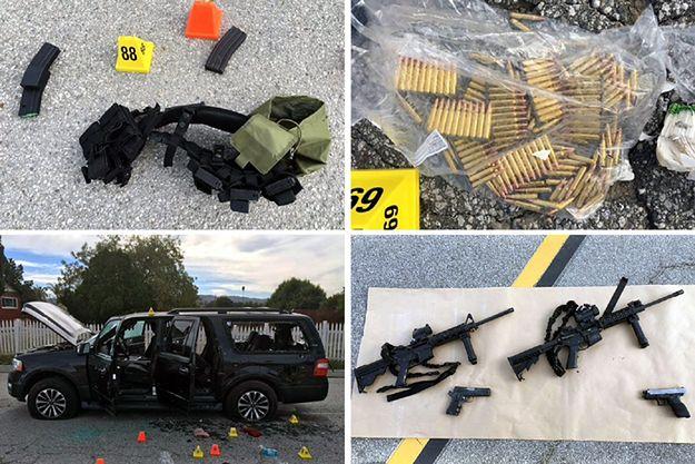 Sprawcy strzelaniny w Kalifornii mieli duży arsenał broni