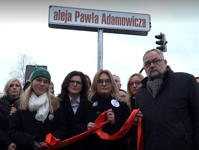 """Gdańsk. Aleja Pawła Adamowicza otwarta. """"Podśmiewaliśmy się, że to Bob Budowniczy"""""""