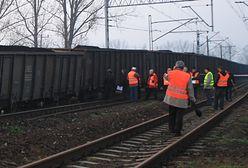 Wykolejony pociąg w Opolskiem. Paraliż ważnej linii kolejowej, opóźnienia