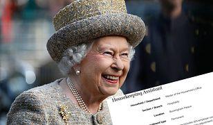 """Królowa zatrudni """"pomoc domową"""". Wiadomo, ile płaci"""