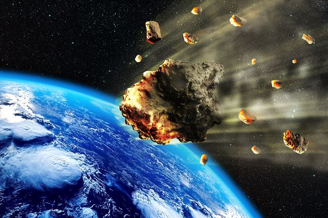 Asteroida zbliża się do Ziemi - czy jest ryzyko zderzenia?