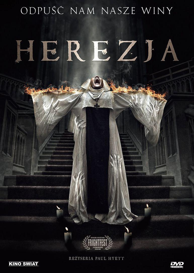 """""""Herezja"""": Przerażająca historia zakonnicy opętanej przez demoniczne siły już na DVD"""