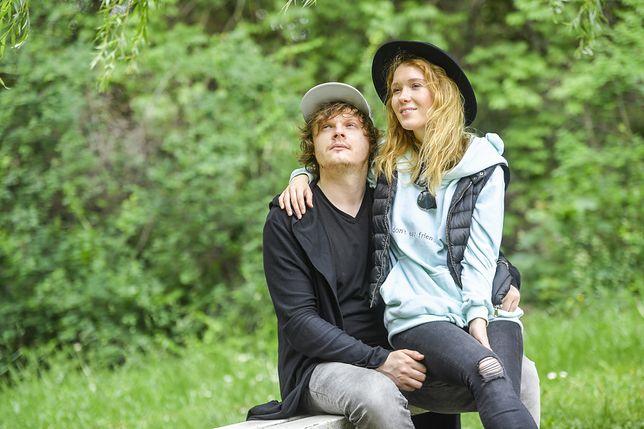 Marta Bryła i Jakub Tackowiak kręcą vloga, fot. AKPA