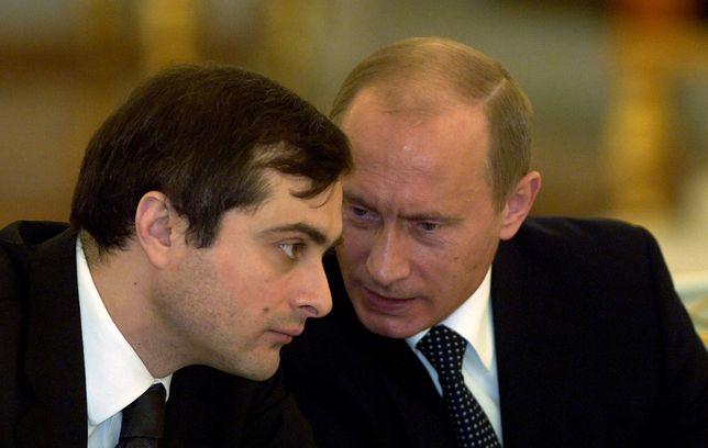 Rosja. Władisław Surkow rezygnuje. Władimir Putin przyjął rezygnację doradcy.