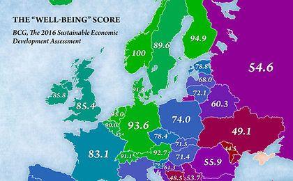 Gdzie w Europie żyje się najlepiej