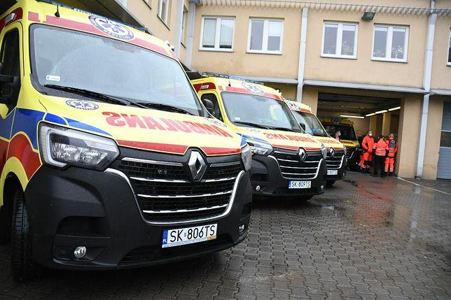 Nowe ambulanse trafiły do pogotowia w Katowicach.