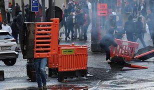 Ostre zamieszki w Belgii. Ranni policjanci, zatrzymania
