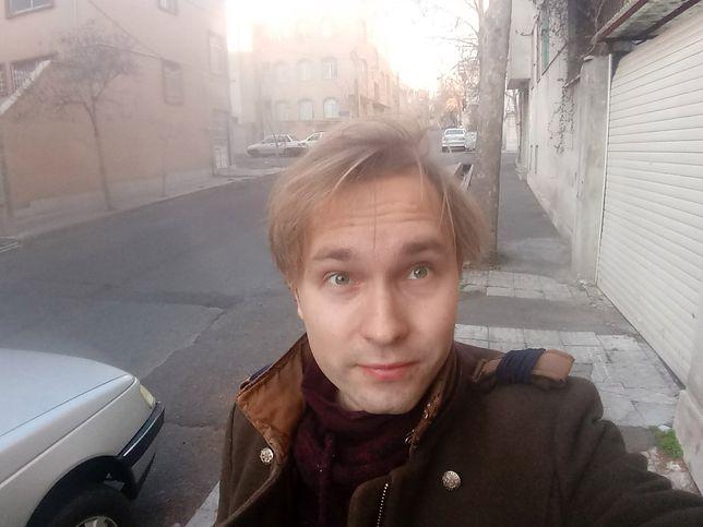Iran. Paweł od kilku dni przebywa w Teheranie