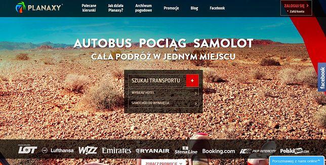 Planaxy.com – pierwsza kompleksowa porównywarka podróży