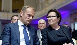 Donald Tusk i Ewa Kopacz (zdj. arch.)